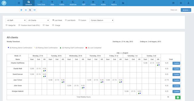 PARiM Automated Timesheets