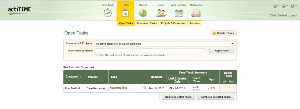 Web-Based Timesheet Software Review - actiTIME - Crozdesk App of the Week