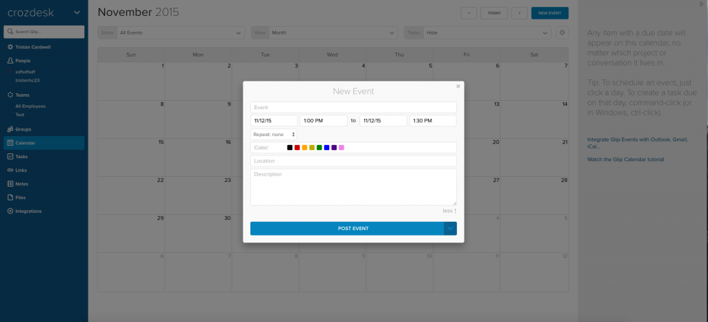 Versatile Team Collaboration and Task Management with Glip - Crozdesk App of the Week