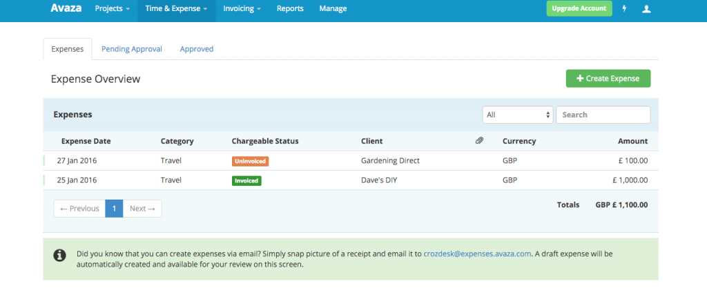 Avaza, Crozdesk App of the Week: Timesheets and Invoices for Teams
