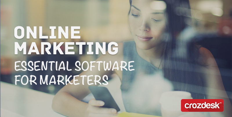 Online marketing: essential software for marketers