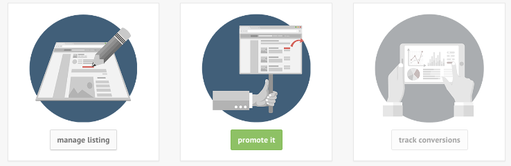 Promote your listing