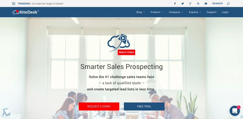 KiteDesk - smarter sales prospecting
