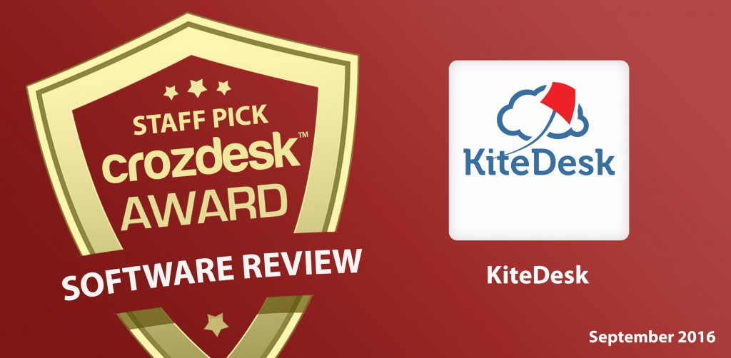 KiteDesk sales software review by Crozdesk
