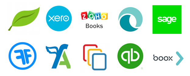 Crozdesk Accounting Software Ranking Winner Logos