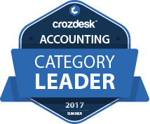 Crozdesk Software Ranking 2017 Badge