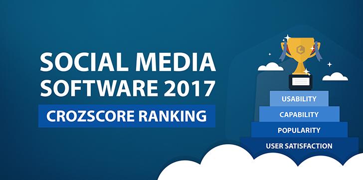 top social media software ranking 2017