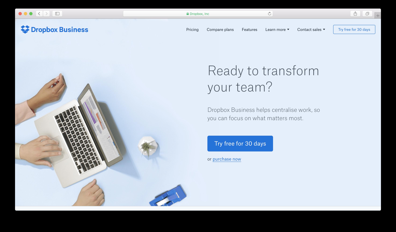 DropBox business review