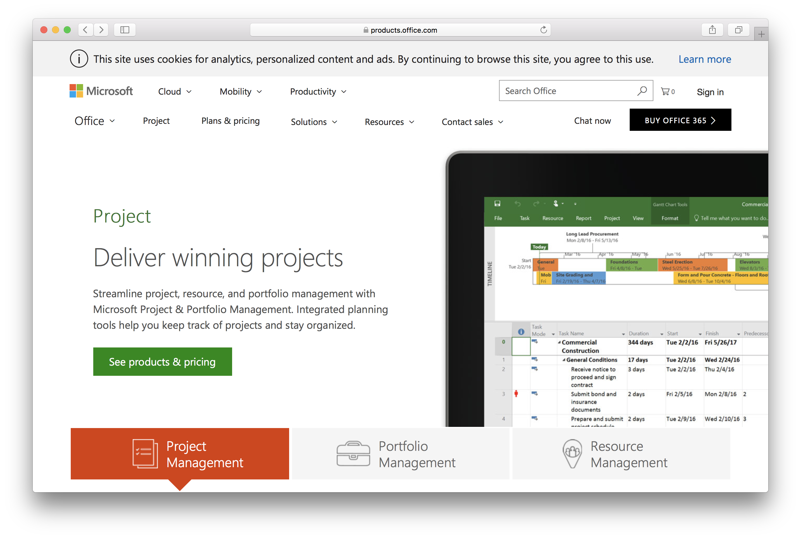 microsoft projects review