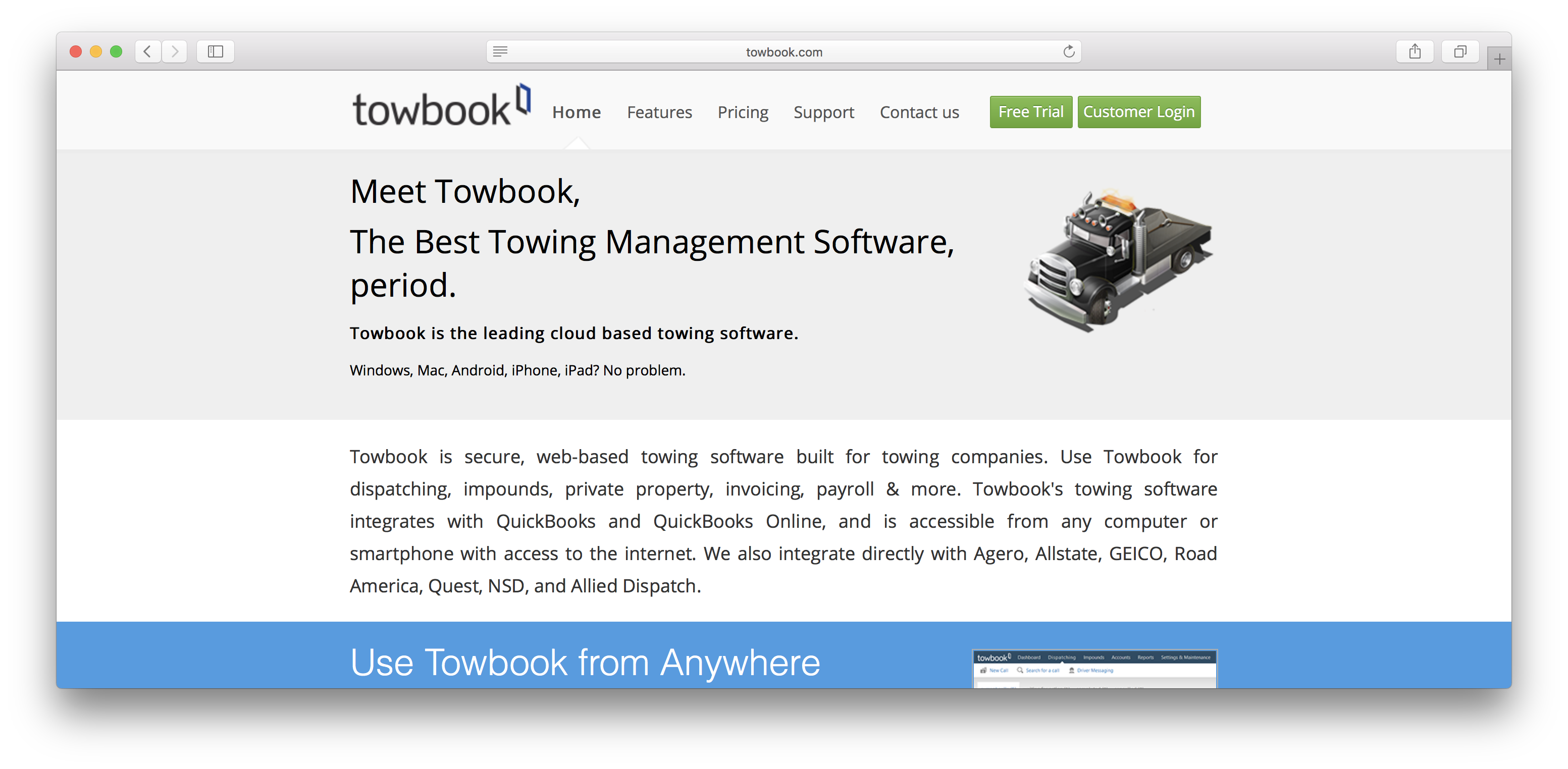 Towbook Review
