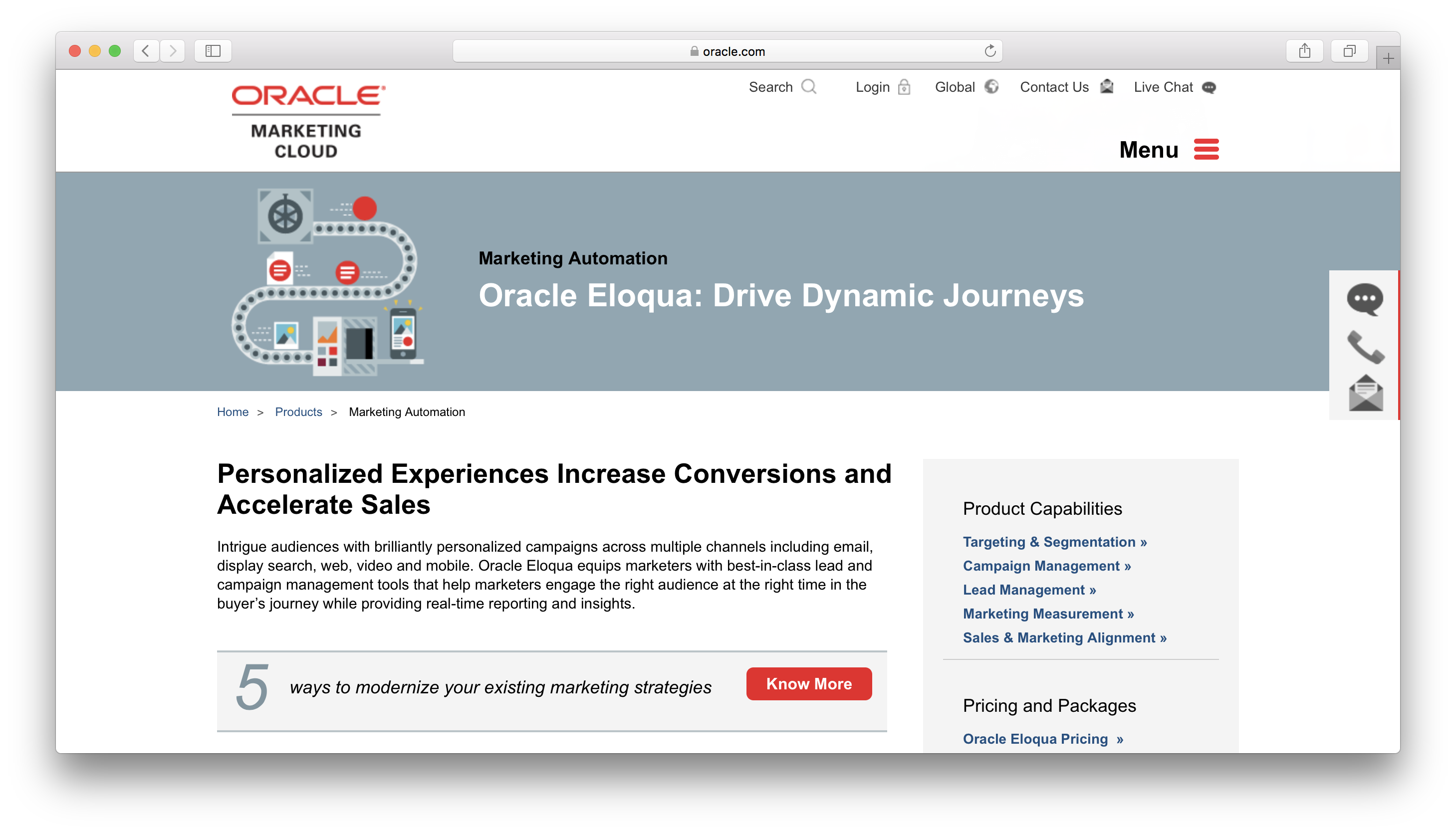 Oracle Eloqua Review