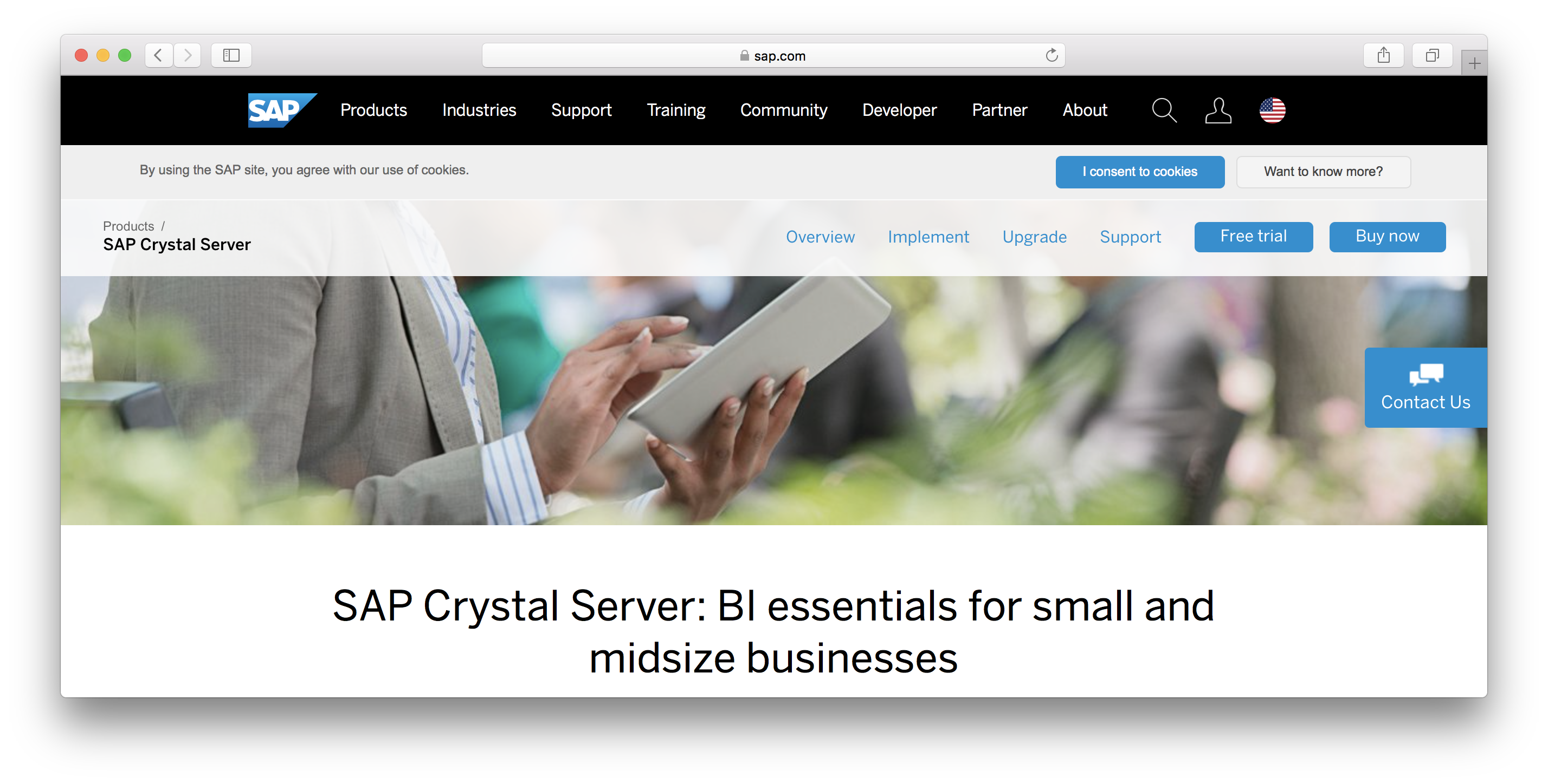 SAP Crystal Server review