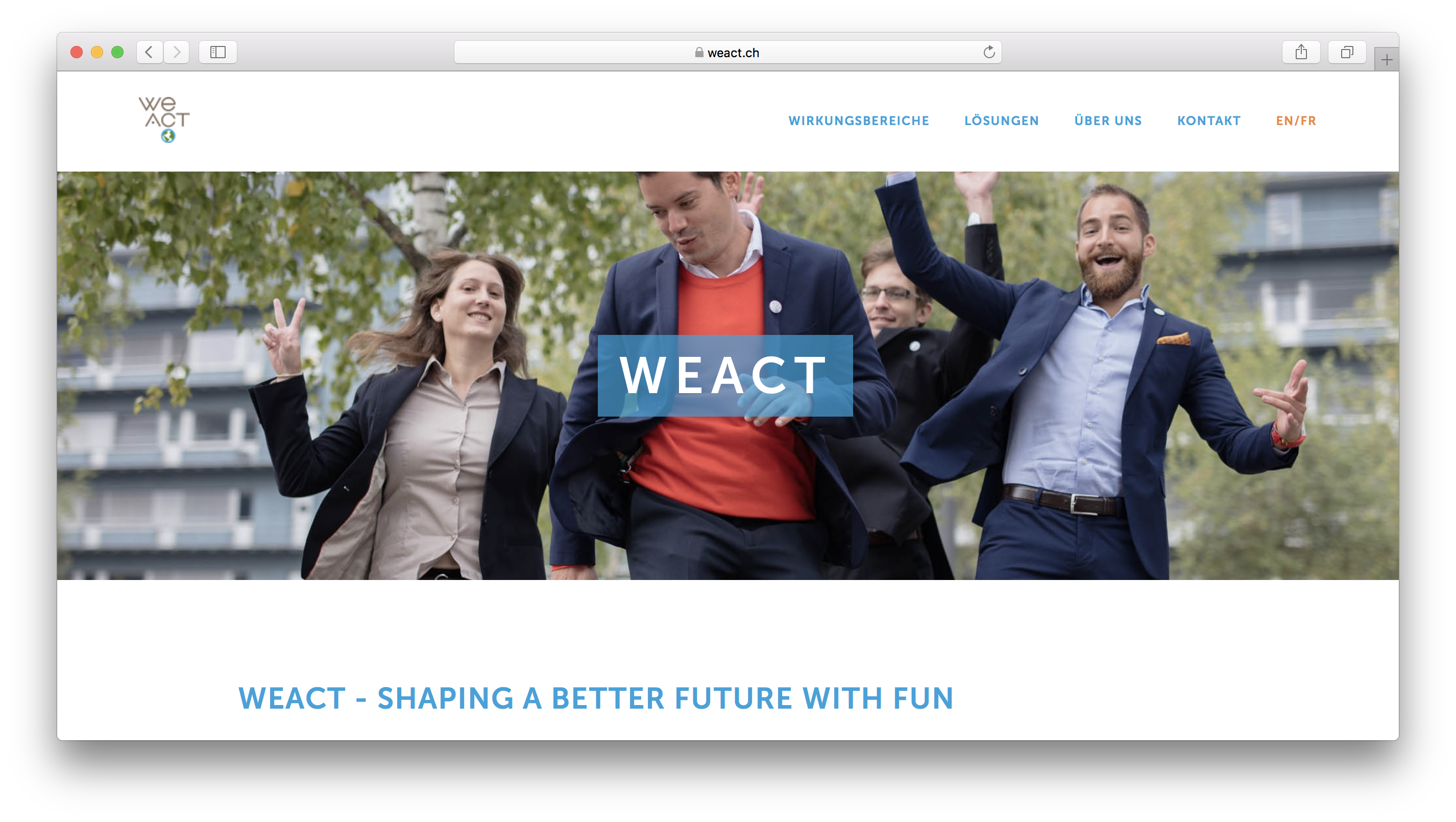Weact Challenge review
