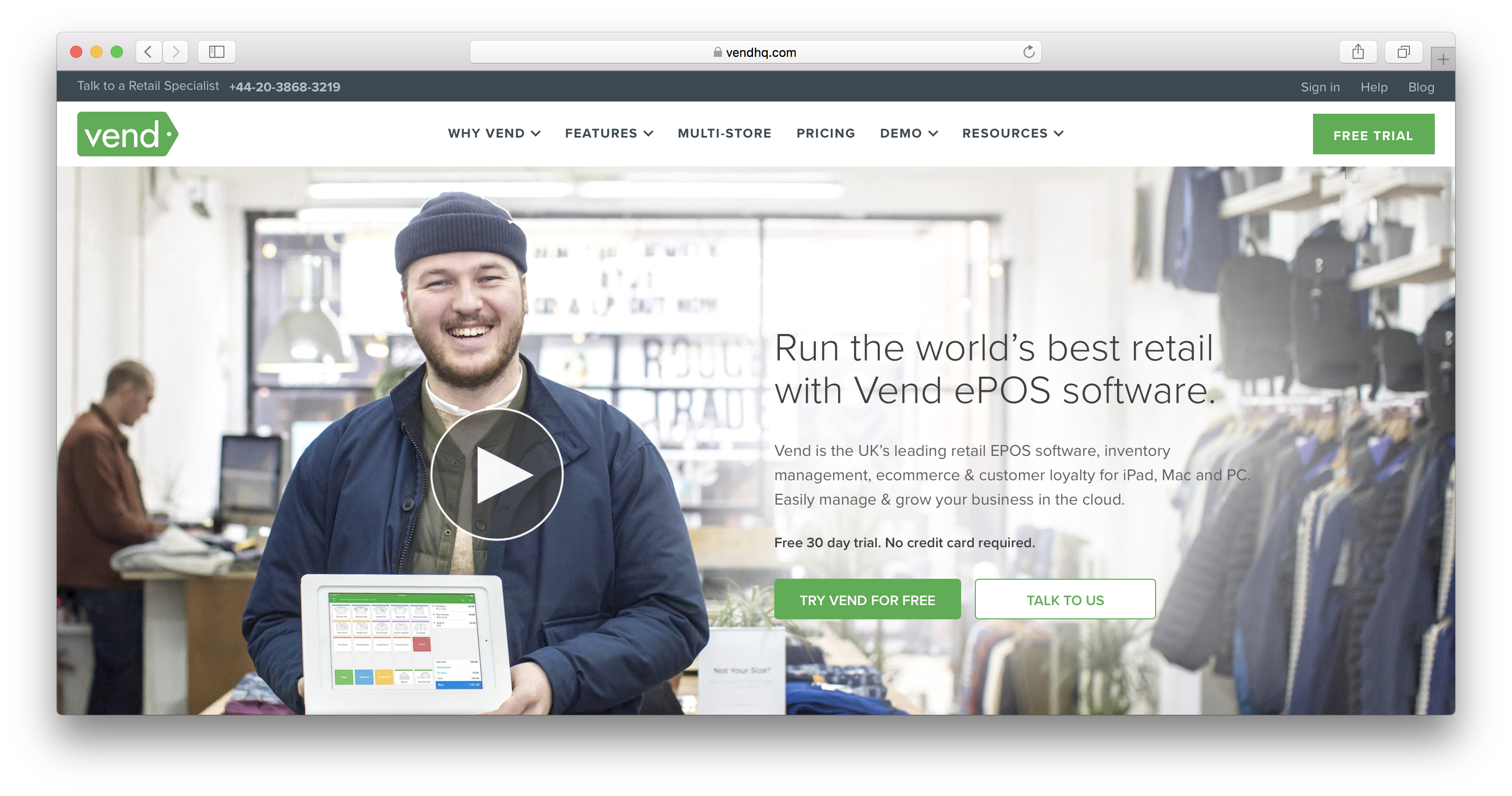 Vend review
