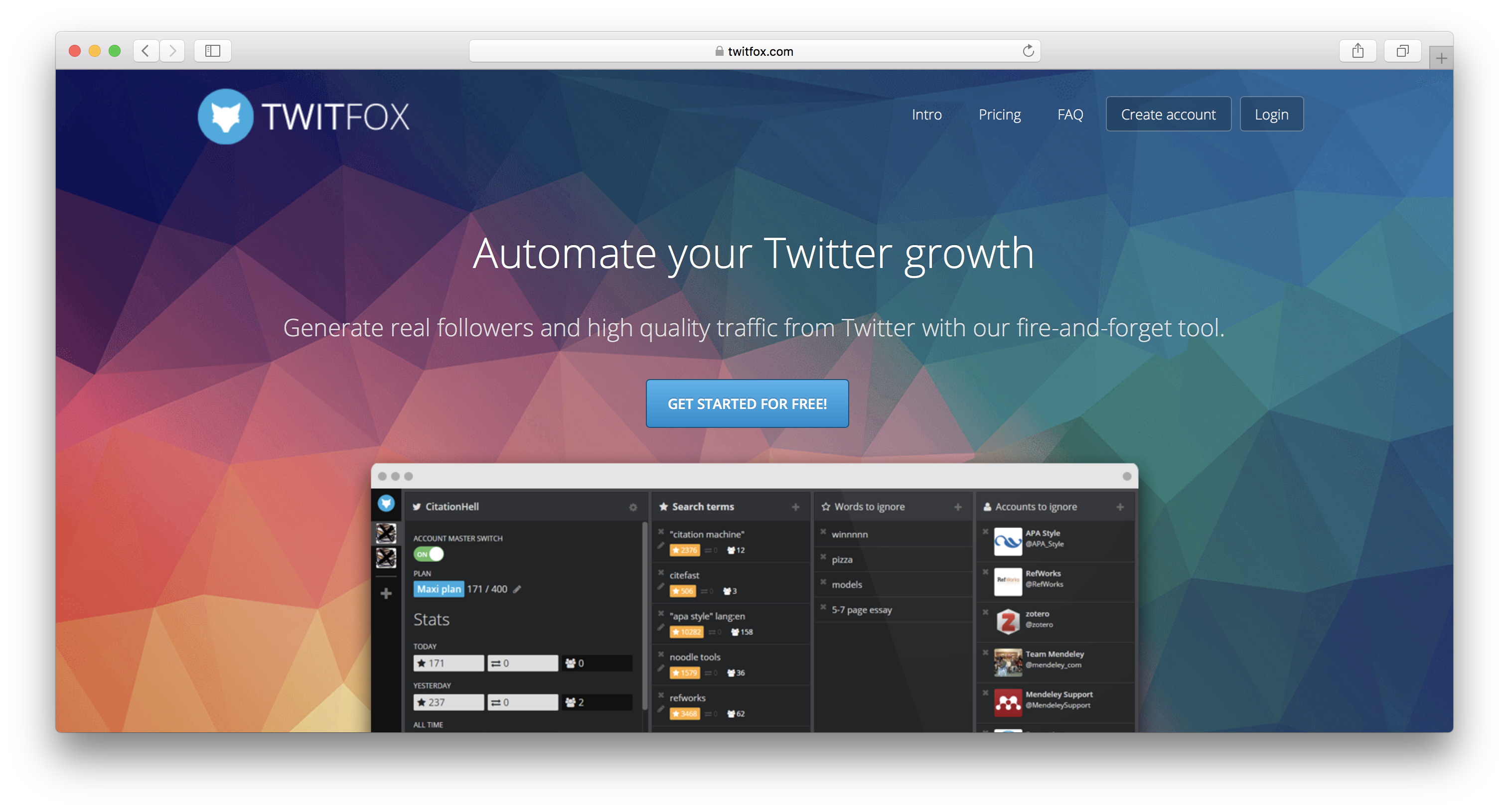 twitfox review