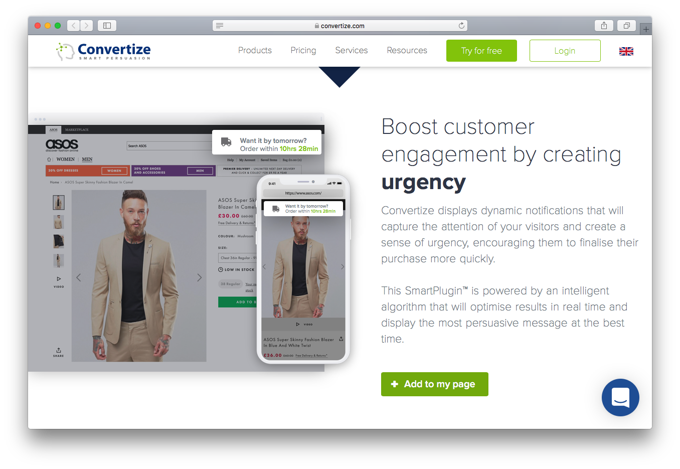Convertize customer engagement urgency dynamic notifications smartplugin