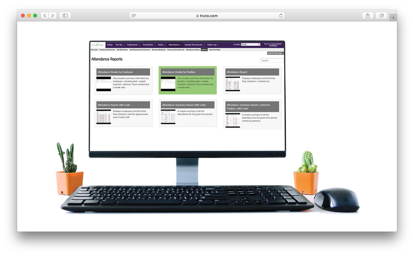 TimeForge human capital management increase productivity