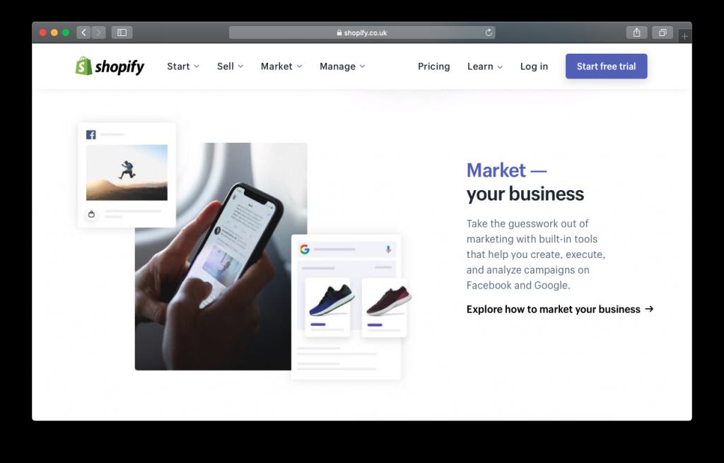 Shopify market business