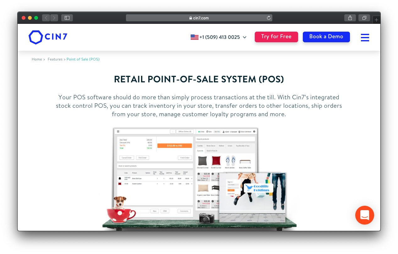 Cin7 Retail POS