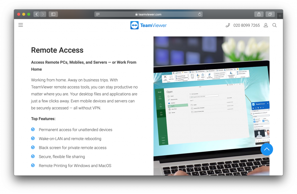 TeamViewer Features
