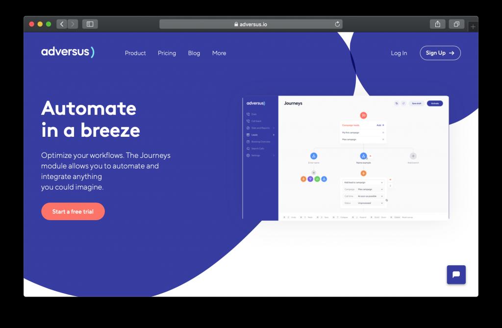 Adversus Homepage