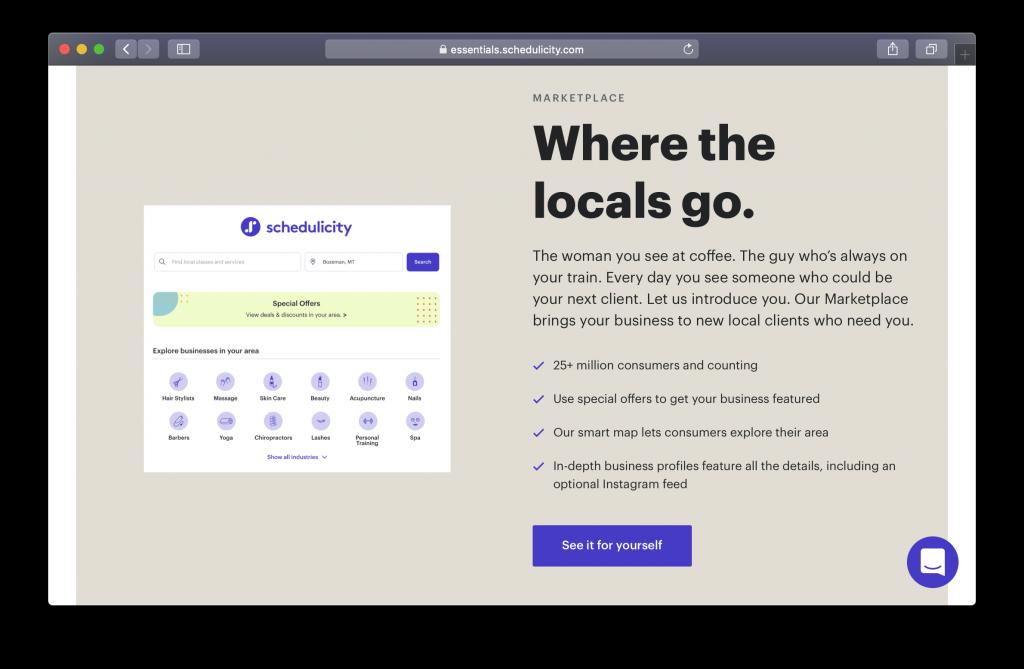 Schedulicity Homepage