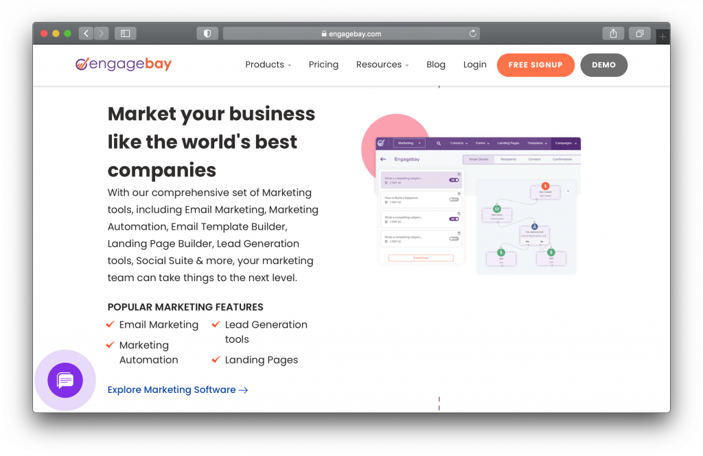 EngageBay Marketing Software